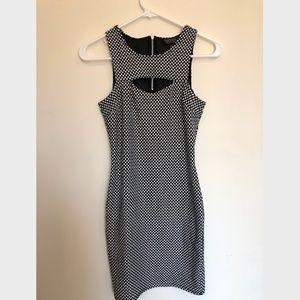 Topshop Polka Dot Dress - Size 2